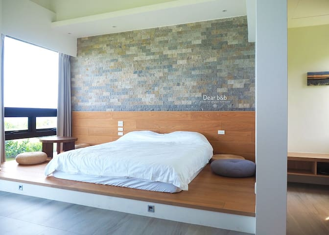 純粹愛大海Hualien Boutique Ocean Inn(梯田2人房Room for2-3)