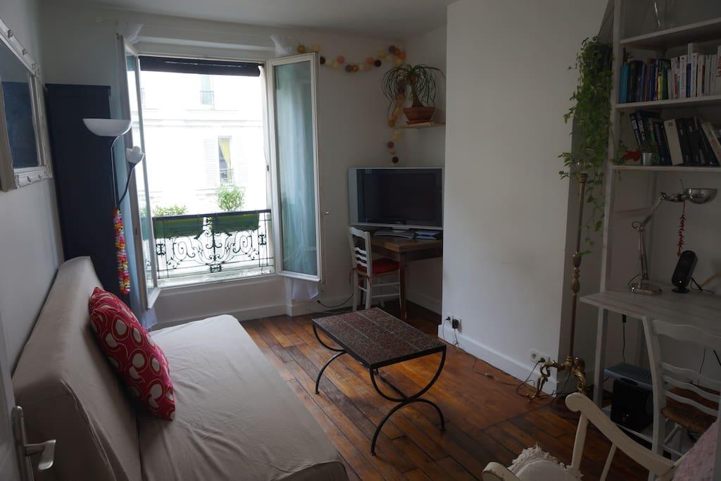 Cosy Flat In Paris 5 Min Montmartre Appartements Louer