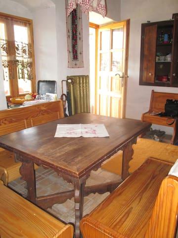Chalet avec chambre lambrissée - Ecséd - Chalet