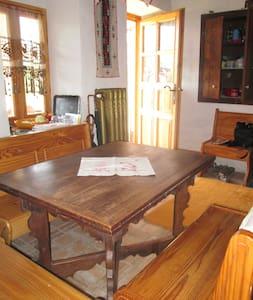 chaleureuse et confortable maison traditionnelle