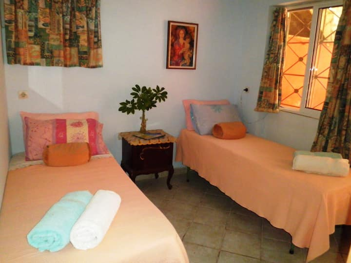 A private bedroom in Laganas