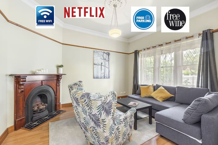 Cosy 2BR hse with WIFI/Netflix/Parking W Footscray