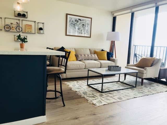 Fully Renovated Ocean View unit in Waikiki