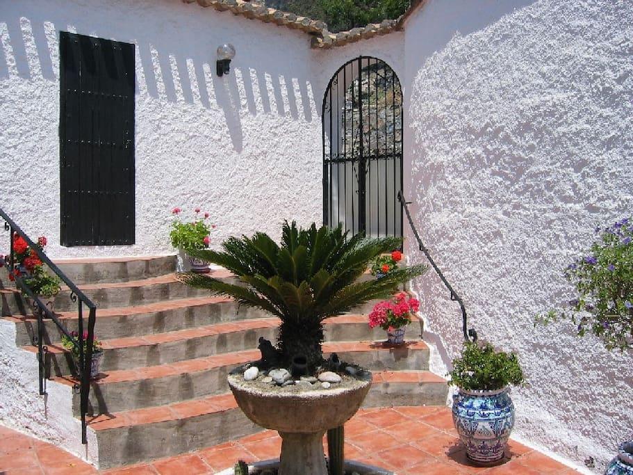 Casa Lobo's patio