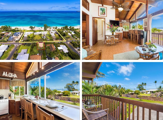 $175/NT Special April 12th`16th ~ Beach Cottage - Waimanalo - Domek parterowy