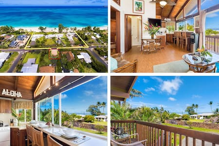 $236/NT Winter Specials~ Ocean View Beach Cottage~ - Waimanalo