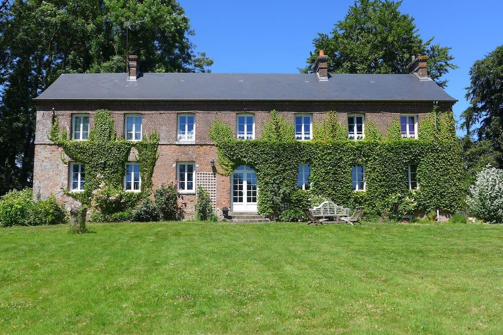 Clos masure chambres d 39 h tes louer beauval en caux for Chambre d hote normandy