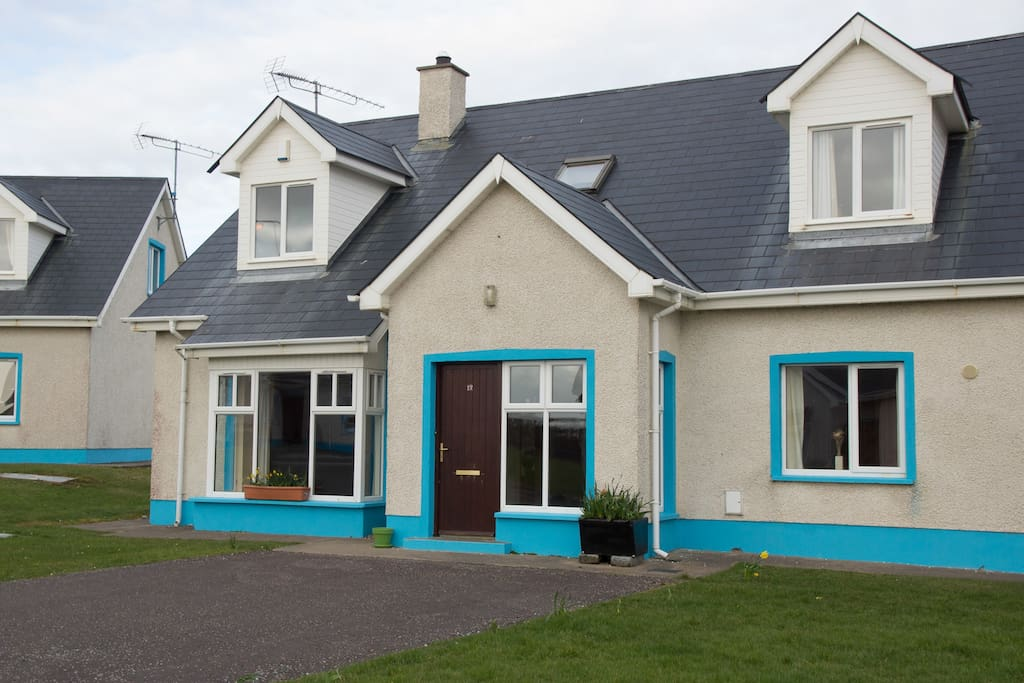 Front view of the four bed semi detached