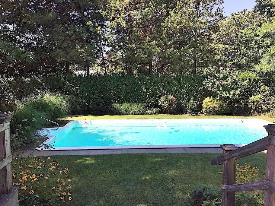 Pool 18 ft long unto 8FT deep