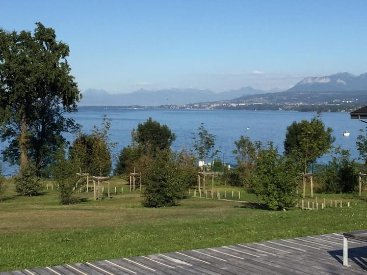 Villa Soleno aux bords du Lac Léman