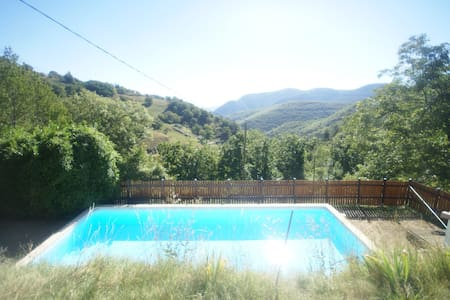 Detached, comfortable house with lovely private pool and terraces