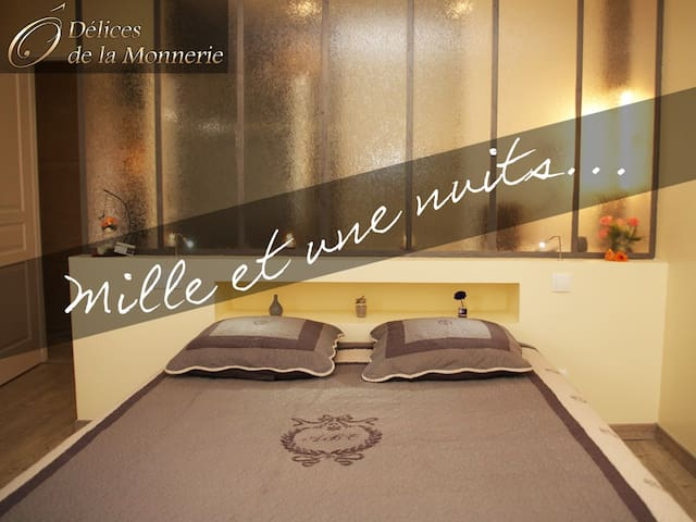 Chambres de charme proche Bordeaux - Bourgnac - ที่พักพร้อมอาหารเช้า