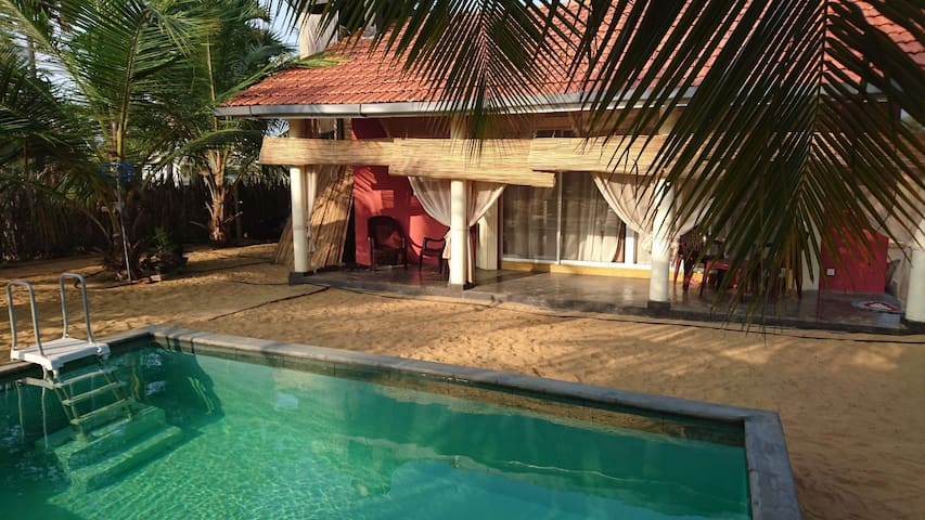Your private pool and bungalow awaits you