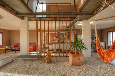 Room in Modern Loft Country Home - Sant Pere Pescador - Rumah