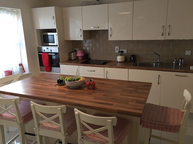 Modern new house, quiet area - Dublin - Huis