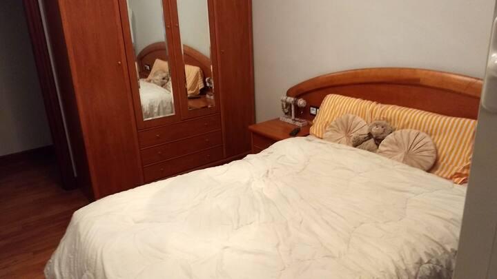 habitaciones  limpias y  cómodas