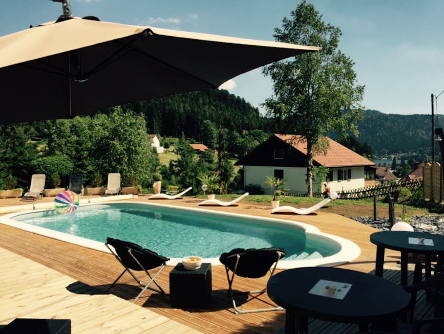 Bed and breakfast la deviniere chambres d 39 h tes louer for Piscine xonrupt longemer