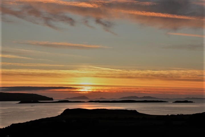 Taigh Glas sunset
