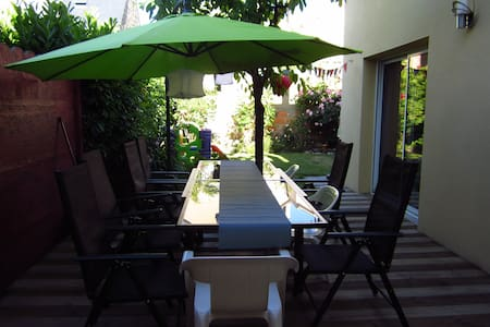 Maison avec jardin ensoleillé quartier calme - Rennes - Dom