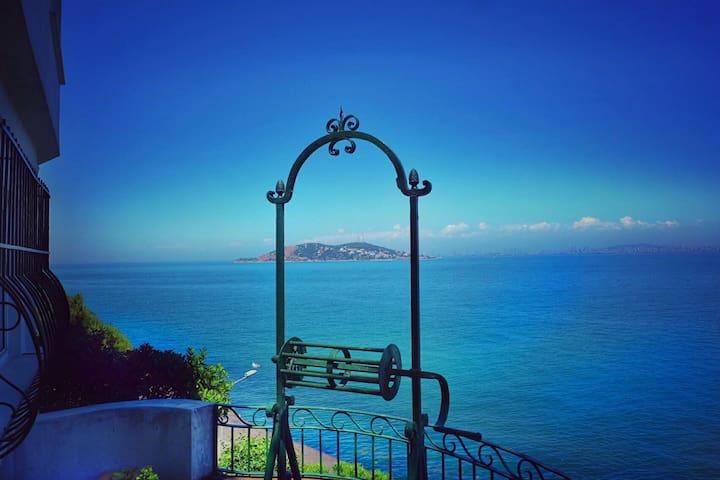 Impressive Seaside House, Burgazada - Burgazadası - Casa