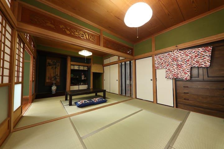 Around Kyusyu/FreeWifi/Miyazaki/Surf/MarineSports - Nichinan-shi - Casa