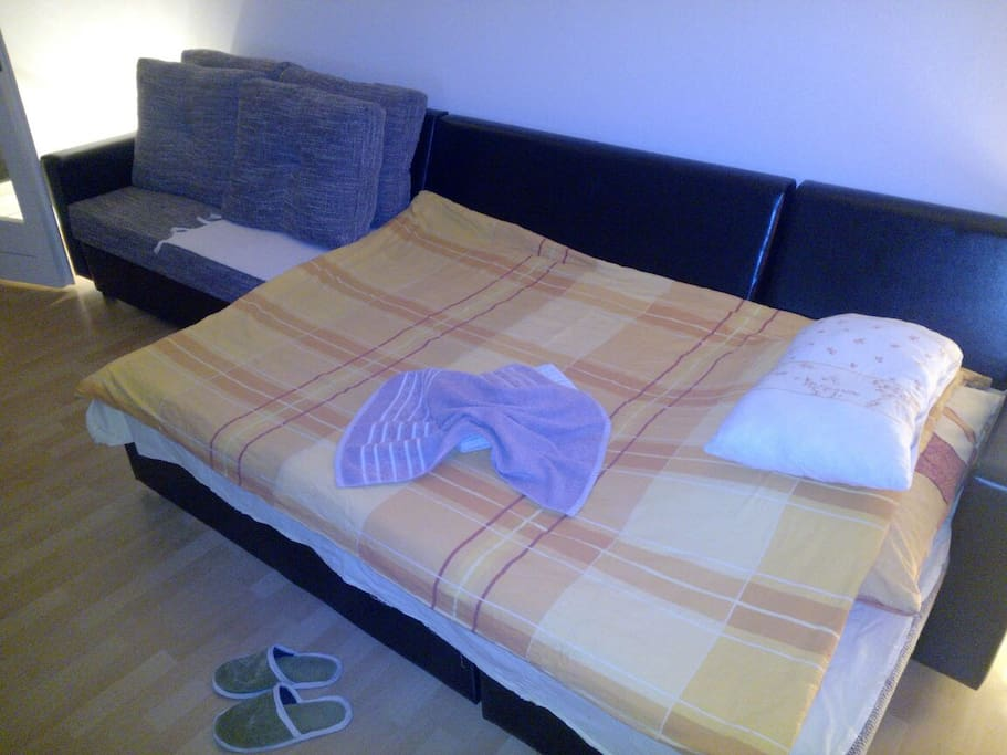 Bed for 1 or 2 guests - special discount during Sarajevo film festival on request