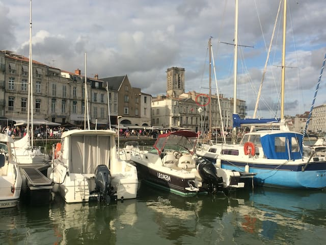 Appartement T2  Port La Rochelle/Parking possible