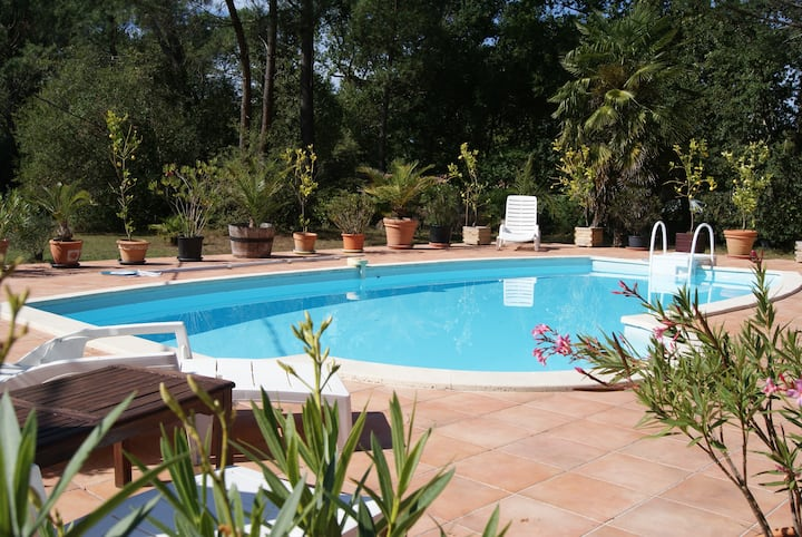 Maison Landes Sud Gironde SPA et PISCINE PRIVATIFS