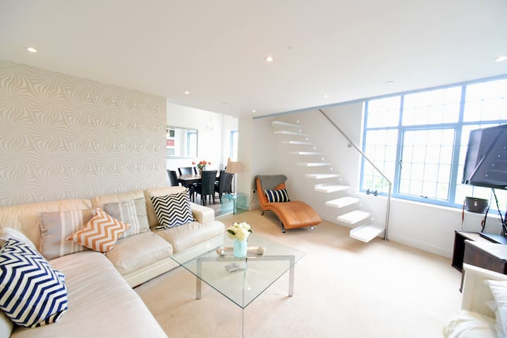 Luxury Quayside Penthouse With View - Gateshead - Apartment