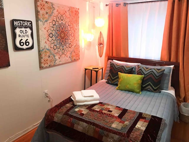 In the heart of Anchorage: Spenard Guest Room #2