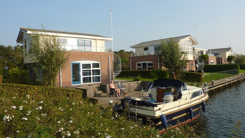 Watervilla Noorderbries - Workum - Huvila
