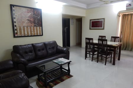 Lovely Sai Ssapphires Fully Furnished 3 BHK - Mumbai - Apartment