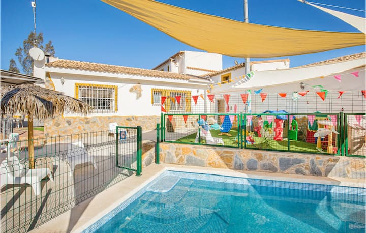 Nice home in Tallante with WiFi, 3 Bedrooms and Outdoor swimming pool