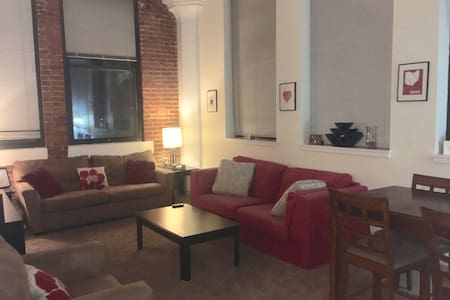 Downtown 2 BR - Entire Apt & Free Garage Parking! - Cincinnati - Pis