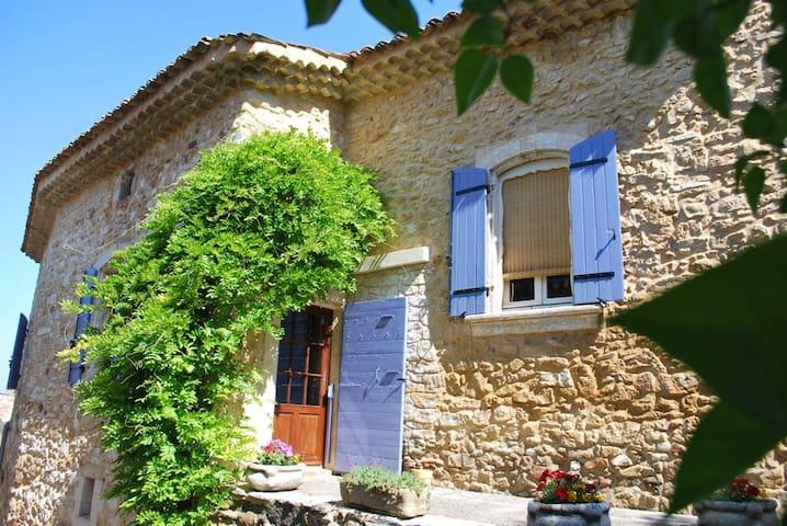 Mas du Vieux Chemin, Gîte 90m² - Saint-Victor-la-Coste - Apartmen
