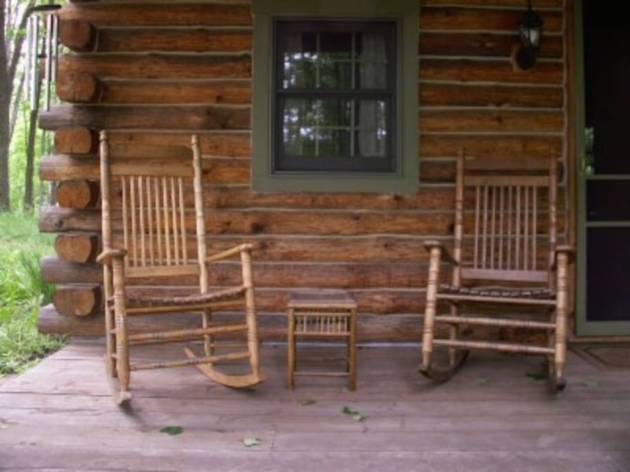 Pull up a rocking chair and make lasting memories on the front porch.