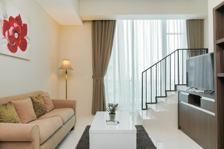 Deluxe 2BR Apartment at Satu8 Residence
