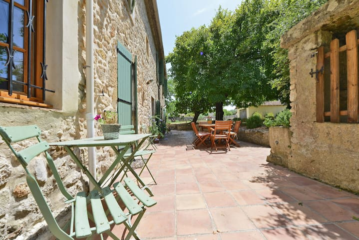 Rooms in provencal farmhouse - Blauzac - Bed & Breakfast