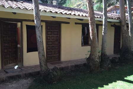 Peaceful cabin and garden in Pisac