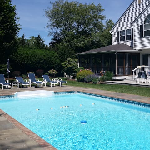 Westhampton area 3BR with pool. - Remsenburg-Speonk - Hus