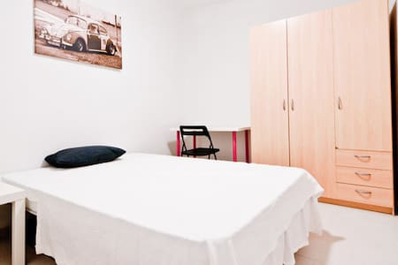 Madrid on a Budget-Room in Center