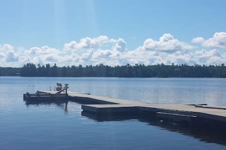 Lake front property with sand beach - Lake of the Woods