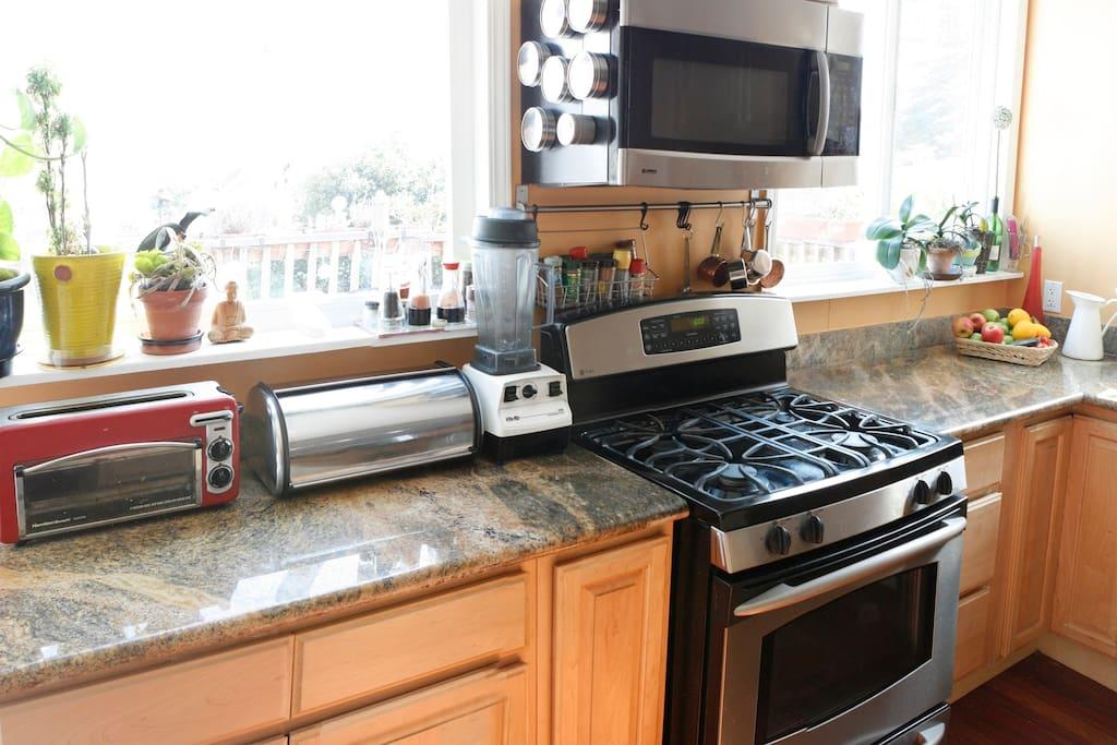 Shared Kitchen Appliances