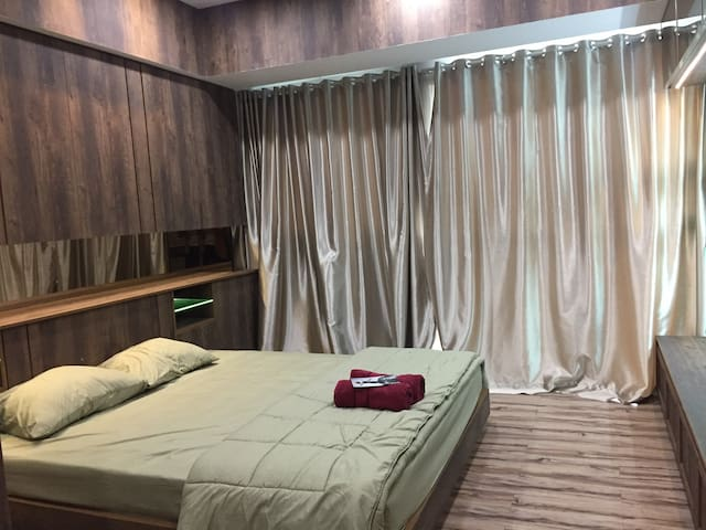17th Floor Kemang Village Studio Apartment - South Jakarta