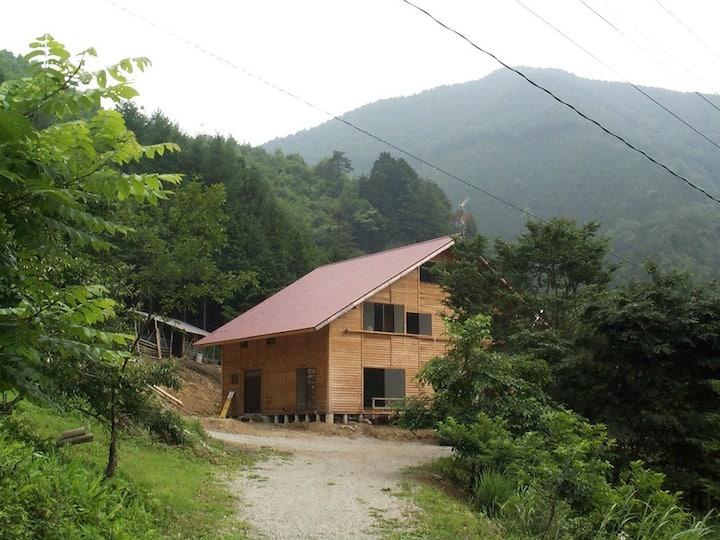 自然どまん中 星降る宿 塩沢山荘 ロフト  御岳眺望 2~6名利用