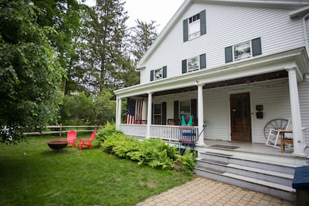 In-Town Family Home - New England Colonial