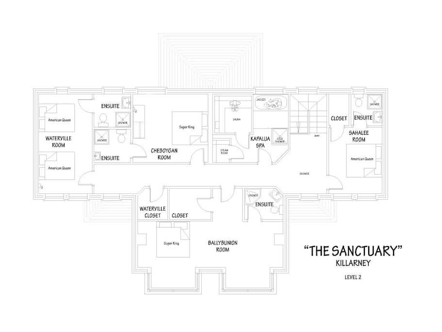 Level Two Floor Plan
