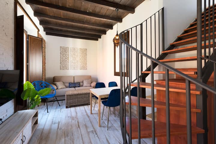 Duplex exclusivo con terraza en centro Malaga. 2C
