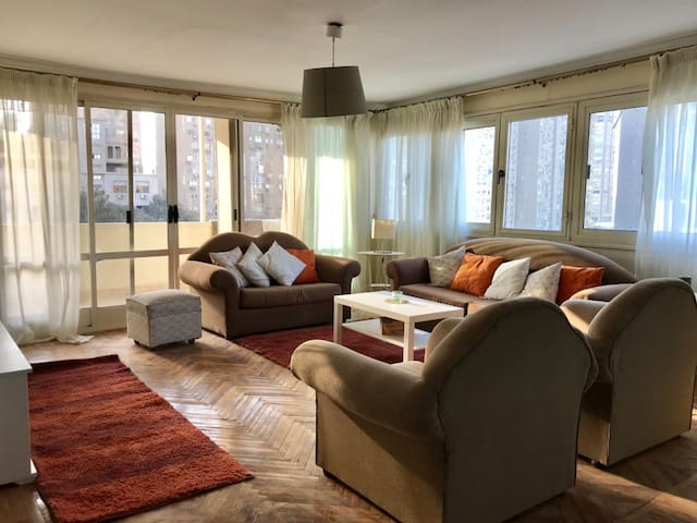 Renovated, Bright and Spacious Apartment in Maadi