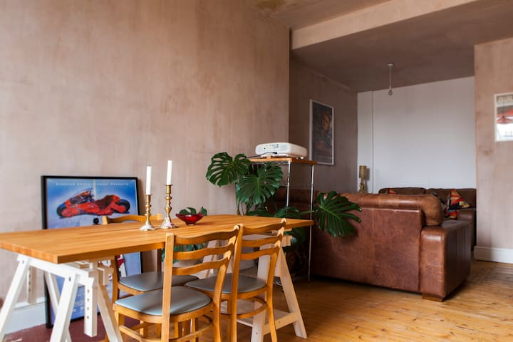 Newly renovated Morningside apartment, sleeps 4 - Edinburgh - Leilighet